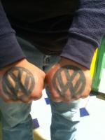 My VW Hand tattoo