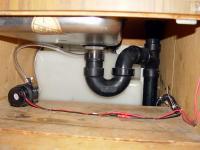 Sink Plumbed
