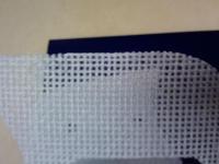 Restored speaker grill mesh