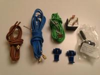 Contents of Pzwo foglight wiring kit