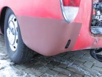 Driver 1/4 panel repair