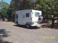 1972 Australian Truline cab over camper