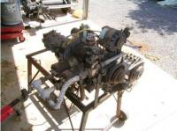 VW engine converted to steam power