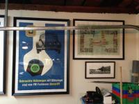 framed original posters