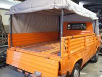 Vanagon Canopy out of Sunbrella