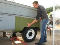 Klassic Fab wheel wells from Monkey Nut and 61 Singlecab