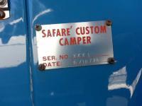 "Safare' Tin Top Camper ""Blue Marley"""
