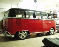 Here is my bus in my Garage
