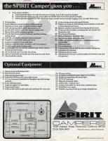 Spirit Camper Flyer