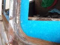 62 Kombi windshield frame
