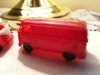 60s german vw bus toys plastic
