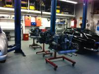 3 Four cam motors at European Collectibles