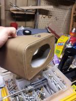 Custom under dash speaker boxes