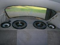 My rear speaker enclosure