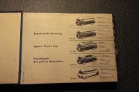 Shop litterature from Sweden 1953 - 1963