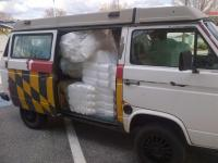 foam in van
