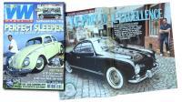 My 56 Golde Ghia in magazines