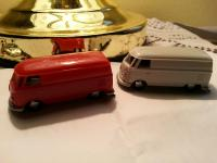 we just got these vw bus toys in....