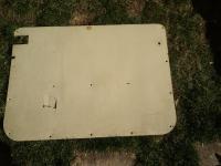 sliding door panel