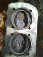 Burnt exhaust valve