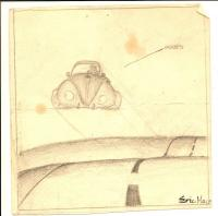 drawing I did in the mid 1970's...  High school freshman