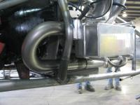 dragster exhaust