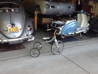 All aluminum Tricycle