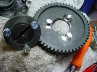 Cam gear conversion