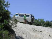 matt and his Syncro Westy