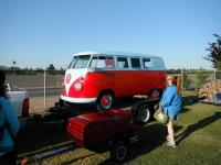 Red Standard Microbus