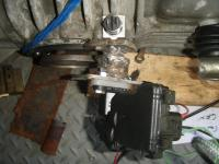 Custom Diff mount for 091 vanagon tranny
