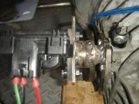 Custom Diff mount for 091 vanagon tranny