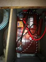Aux battery small cabinet