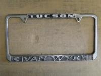 Tucson 2 bolt Van Wyk VW Porsche Dealer frame