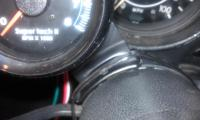 Quick and dirty tach install