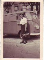 Barndoor vintage photo.