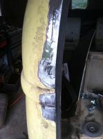 Westy rear hatch repair