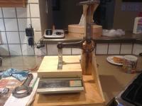 Home made rod balancing jig