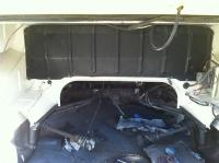 newly painted 69 Westy engine compartment