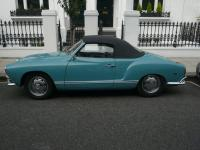 YPF936G Karmann Ghia - Stolen in London - June 2013