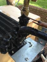 Evaporator lines foam