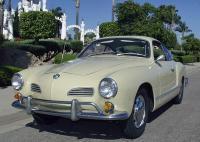 1967 Volkswagen Karmann Ghia coupe - Castilian Yellow (L 10 K)