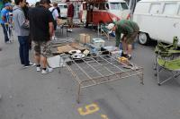 Swap meet photos - rack and lots of parts