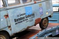 1951 Barndoor getting ready for the 'Ben Pon Show' in NL
