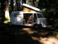 Camping with Harold L green