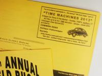 Time Machines 2013 ad in Litchfield 2013 show booklet