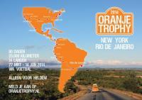 Oranje Trophy 2014 route