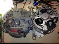 detail alternator
