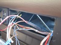 wires behind RH side of dash