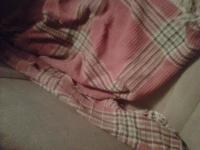 vintage car blanket